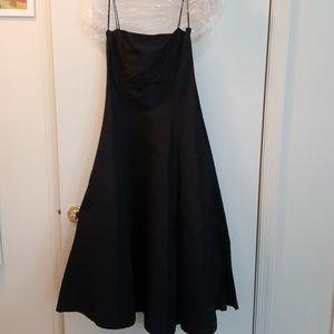 Ralph Lauren Collection Black Silk Gown 10